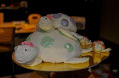 schildpadden verjaardagstaart