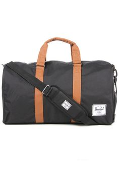Herschel Supply Co. Bag Novel Duffle in Black and Tan