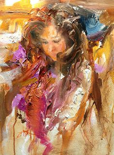 A Morning Study by Scott Mattlin Oil ~ 14   x 11