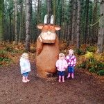 Gruffalo's Child Trail Delemere Forest http://minitravellers.co.uk/