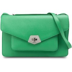 Nine West Rock And Lock Shoulder Bag (6.500 RUB) ❤ liked on Polyvore featuring bags, handbags, shoulder bags, green shoulder bag, nine west, rock purses, green handbags and green purse