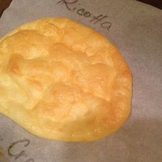 Ricotta cloud bread @ http://allrecipes.co.uk