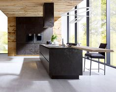 Kitchen Design -In contemporary housing, the open plan kitchens are almost a norm. This way of organization of space achieves adequate social interaction, even during meal preparation process.