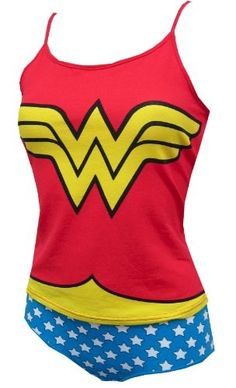 I had Wonder Woman underoos when I was a little girl! wonder woman camisole and panty set Gyaru, Geek Mode, Wonder Woman Outfit, Harajuku, Pin Up, Rockabilly, Offbeat Bride, Girly, Wonder Women