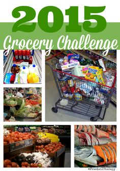 2015 Grocery Challenge Frugal Living, Eco Friendly, Therapy, Challenges, Tips, Counseling