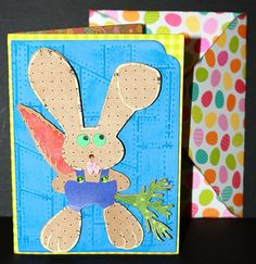 Guilty Bunny Easter Card, SVG Cutting File Kit.  Super easy! Easter Bunny, Easter Card, Bunny Face, Cute Bunny, Cutting Files, Etsy Store, Kit, Super Easy, Cards
