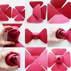 DIY Paper Flower ROSE CENTER (PART 2) tutorial #paperflower #paperflowers #paperflowerbackdrop #center #paperrose #diy #tutorial #thankyouforyoursupport #loveyouall