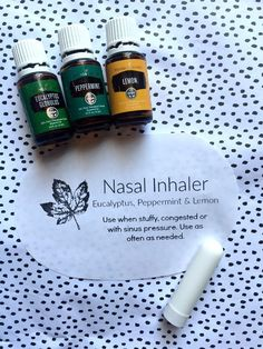 This DIY nasal inhaler with essential oils is so easy to make and works wonderfully. Essential oils aromatherapy nasal inhaler recipe.