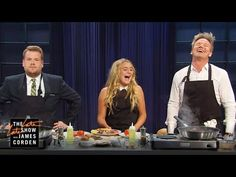 """James challenges Gordon Ramsay and his daughter Matilda to a cook-off of a traditional English breakfast. """"Subscribe To """"""""The Late Late Show"""""""" Channel HERE: ..."""