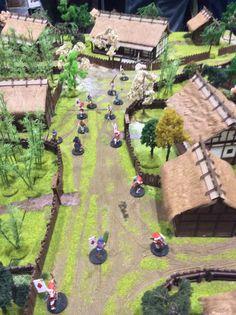 Japanese Buildings, Warhammer Terrain, Japanese Castle, Game Terrain, Medieval Houses, Diorama Ideas, Gnome Garden, Farm Gardens, Arquitetura