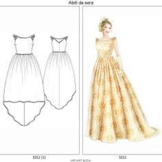 cartamodello abito  N°5212