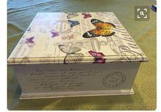 Cajas De Te - Bandejas- Cajones Verduleros De Madera - $ 300,00 en Mercado Libre Napkin Decoupage, Decoupage Box, Decoupage Vintage, Altered Cigar Boxes, Handmade Jewelry Box, Girls Jewelry Box, Shabby Chic Crafts, Pretty Box, Custom Boxes