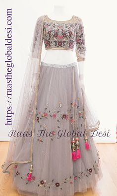 Indian Gowns Dresses, Indian Fashion Dresses, Indian Designer Outfits, Designer Dresses, Party Wear Lehenga, Party Wear Dresses, Lehnga Dress, Lehenga Gown, Lehenga Blouse