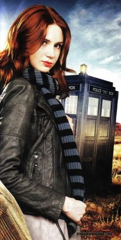 Amy Pond  -  I'm thinking I need a leather jacket this year.  All the Companions have them and look terrific!