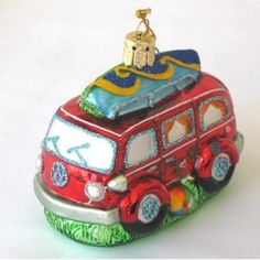 VW bus ornaments