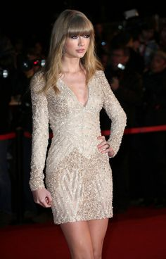 Taylor Swift in Elie Saab - my favorite designer of all time now and forever Elie Saab has my heart