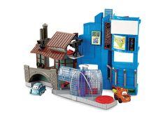 Fisher Price Imaginext W8579 Disney Pixar Cars 2 Tokyo Playset