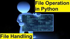 Learn File Operation in Python Completely | Python File Handling What Is Deep Learning, Artificial Intelligence Course, Introduction To Machine Learning, Feed Forward, Supervised Learning, Ai Applications, Logistic Regression, Linear Regression