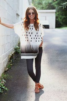 Wear tunics as a beach coverup or with leggings for a dinner night out.