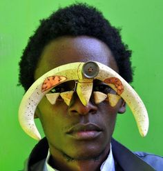 Kenyan artist Cyrus Kabiru creates epic eyewear from scraps of metal found on the streets of Nairobi. African History, African Art, Kenyan Artists, Sculpture Art, Sculptures, Postmodern Art, Art Of Beauty, Found Object Art, Arts Ed