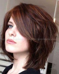 20 Great Brown Bob Hair Bob Hairstyles 2015 – Short Hairstyles for Women: Brown Bob Hair, Hair Today, Straight Hairstyles, Everyday Hairstyles, Amazing Hairstyles, Trendy Hairstyles, Hairstyles 2016, Fat Face Hairstyles, Neck Length Hairstyles