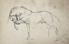 lovely drawing by Marilee Spencer Stud Statement