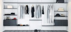 Design garderoben akkurat slik du trenger den! Schmidt, Den, Closet, Home Decor, Armoire, Interior Design, Home Interior Design, Closets, Wardrobes