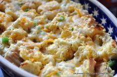 delicioso breakfast casserole with mushrooms bell peppers and feta ...