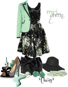 """""""Mint queen."""" by chicsy on Polyvore"""