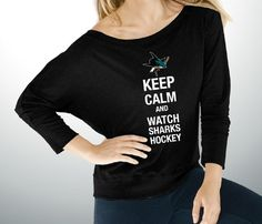Keep Calm - $35 - Get it exclusively at the Sharks Store at SAP Center. Text STORE to 74499 for Sharks Store deals! (msg rates may apply)