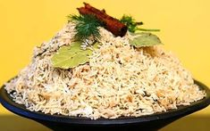 Basmati rice with cinnamon, dill, and cardamom...my favorite rice.  by Madhur Jaffrey