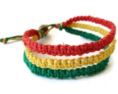 Hemp Bracelet Patterns #Bracelet