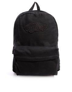 012930f08e429 2017 Popular Image of Vans Realm Backpack - Black white