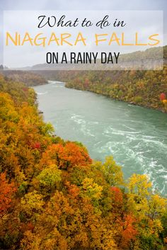 What to do in Niagara Falls, Ontario, Canada on a rainy day. Niagara Falls New York, Visiting Niagara Falls, Niagara Falls Ontario, Canada Travel, Travel Usa, Canada Trip, Falling Water Architecture, Autumn In New York, All I Ever Wanted
