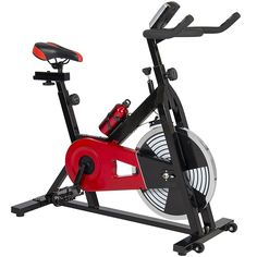 Best Choice Products Exercise Bike Health Fitness Indoor Cycling Bicycle Cardio Workout W/ LCD Screen ** See this great product. Cycling For Beginners, Workout For Beginners, Bmx Bikes, Cycling Bikes, Spin Bike Workouts, Exercise Bike Reviews, Indoor Workout, Indoor Cycling, Spinning