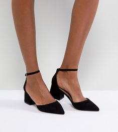 Buy ASOS STARLING Pointed Heels at ASOS. Get the latest trends with ASOS now. Sneakers Mode, Sneakers Fashion, Fashion Shoes, Black Pointed Heels, Black Heels, Fancy Shoes, Me Too Shoes, Prom Shoes, Wedding Shoes