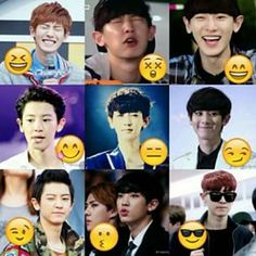 Chanyeol emoji :D ♥