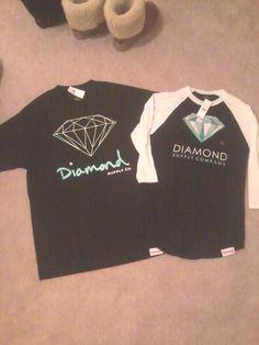 Diamond shirts I got for me & my boyfriend :) #couple #shirt #diamond