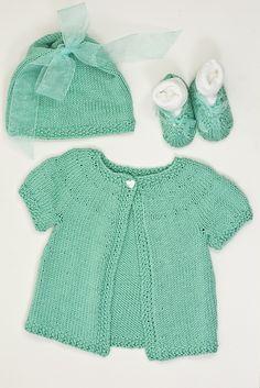 Knitting Patterns Galore – Basic Baby Set