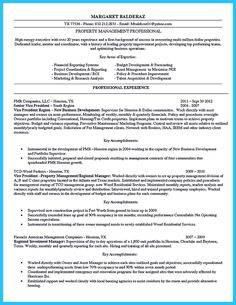 Property Management Resume If You Want To Propose A Job In Land Property You Should Make A
