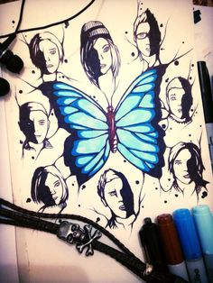 UNTIL DAWN: The Butterfly Effect (This is reminding me of the Life is Strange butterfly but wheves)