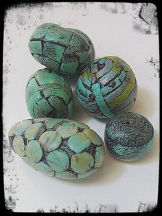 Out of Time Designs Polymer Clay Beads - Faux tutorial from Lynda Moseley of DivaDesignsInc
