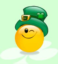 A wink of luck to you. Smiley Face Images, Emoji Images, Smiley Faces, St Patricks Day Pictures, Happy St Patricks Day, San Patrick Day, Emoji Characters, Gifs, Craft Quotes