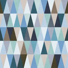 Moody Triangles Removable Wallpaper Wall Decal