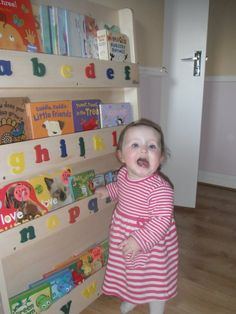 The Tidy Books Childrens Bookcase sent in by @annehoctor    http://www.tidy-books.com