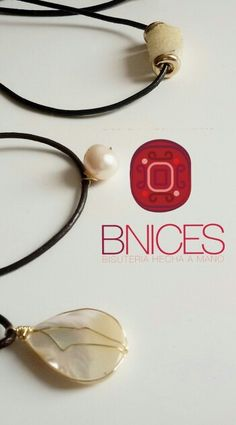 Collares cuero @b.nices Headphones, Leather Necklace, Necklaces, Headset
