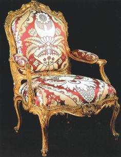 Un des six fauteuils conservé à Versailles, © château de Versailles