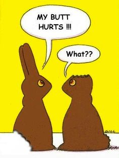 Happy Easter! My favorite cartoon! Except the one where Mr. Potatohead forgot something at home is catching up!