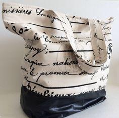Tote Bag Beach Bag Handbag Overnight Bag by RavensMoonDesigns