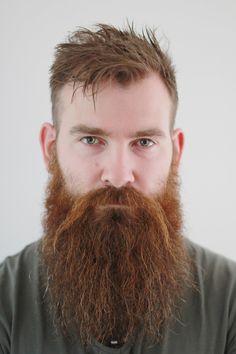 My beard a bit old but still like the pic! Beard And Mustache Styles, Beard Styles For Men, Beard No Mustache, Hair And Beard Styles, Hair Styles, Red Beard, Full Beard, Epic Beard, Ginger Men